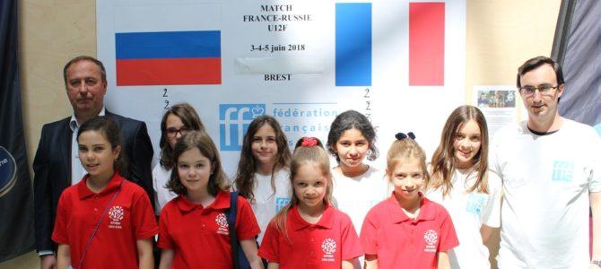 FRANCE-RUSSIE : les françaises mènent 17-15 après les Blitz !
